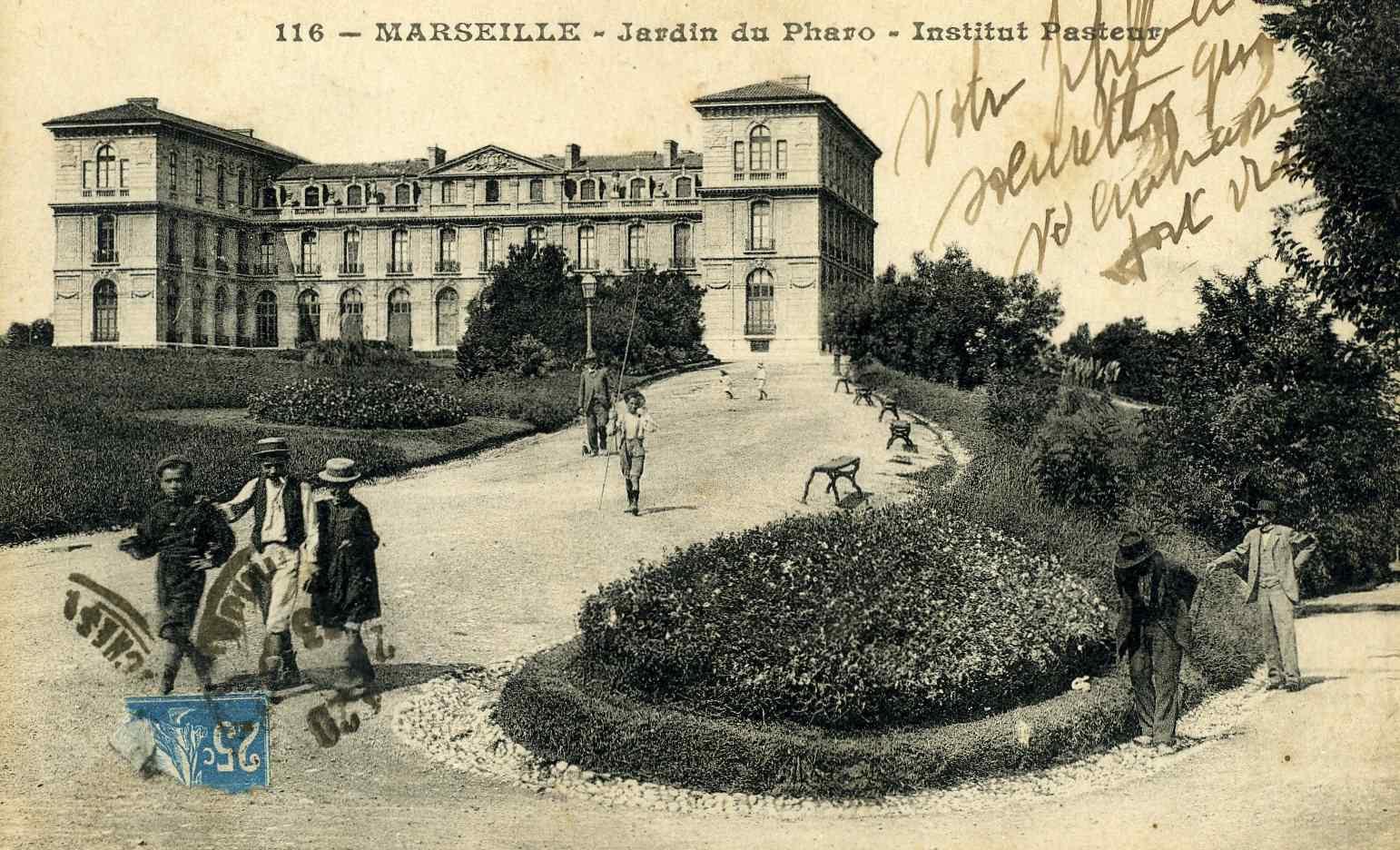 Cartes postales anciennes region paca page 4 for Jardin anglais marseille