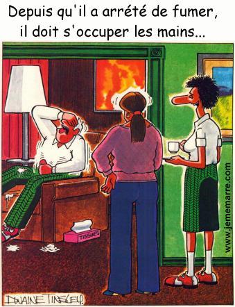 blague courte fumeur