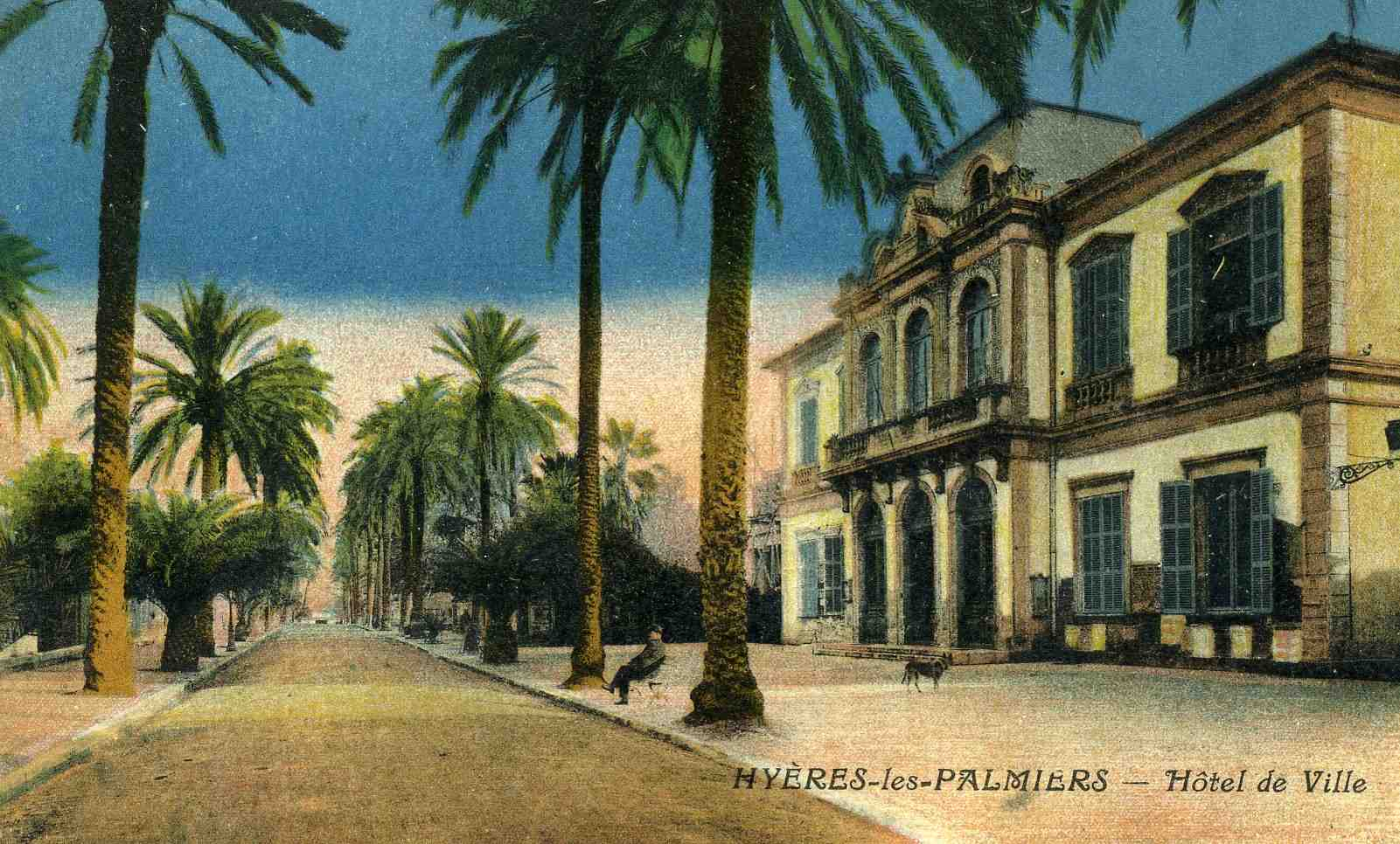 Cartes postales anciennes region paca page 2 - Piscine hyeres les palmiers ...